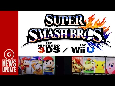Smash Bros. Leaked Roster Video and Images Reveal Possible Characters - GS News Update