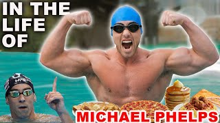Training and Eating Like Michael Phelps for a Day ( I LITERALLY ALMOST DIED) | Zac Perna