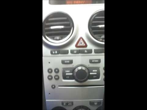 Test Original Opel Autoradio CD 30 Mp3 im Corsa D. ( CD30 Radio CD30MP3 Astra, Meriva )