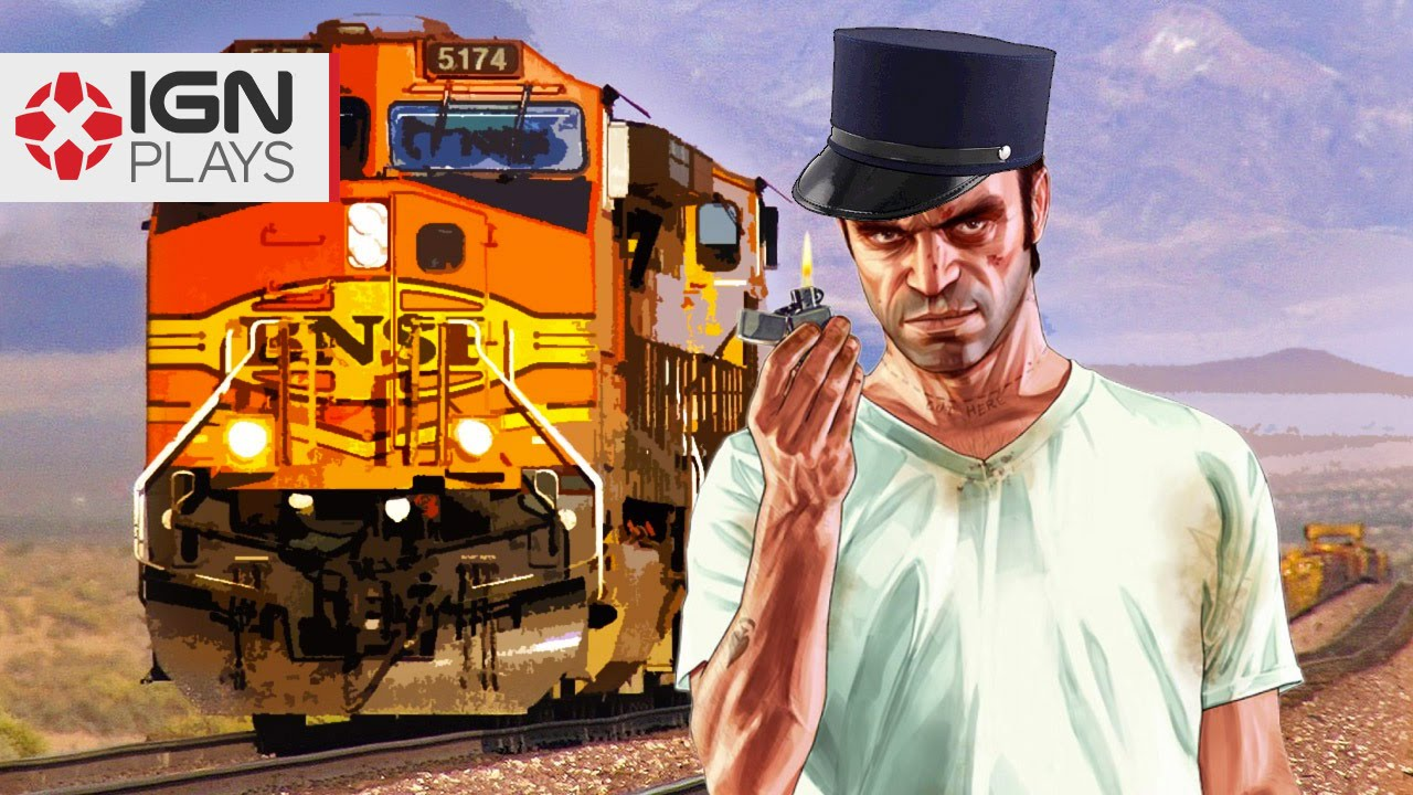 Railroad Engineer Mod Update in GTA 5 - IGN Plays