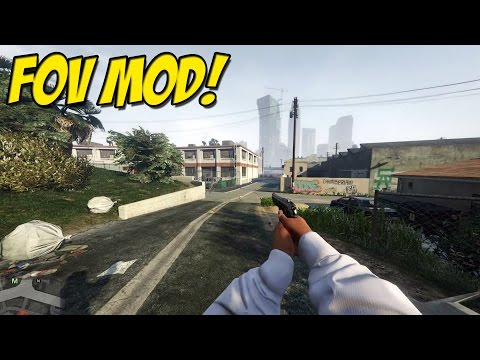 Field of View Mod! ► Grand Theft Auto 5 PC ( Mod Review )