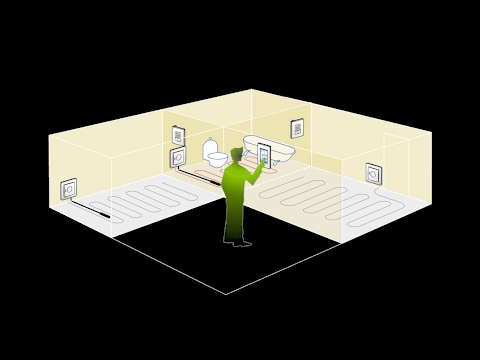 Теплый пол №3 – Терморегуляторы DEVI – TouchScreen, управление со смартфона, умный таймер