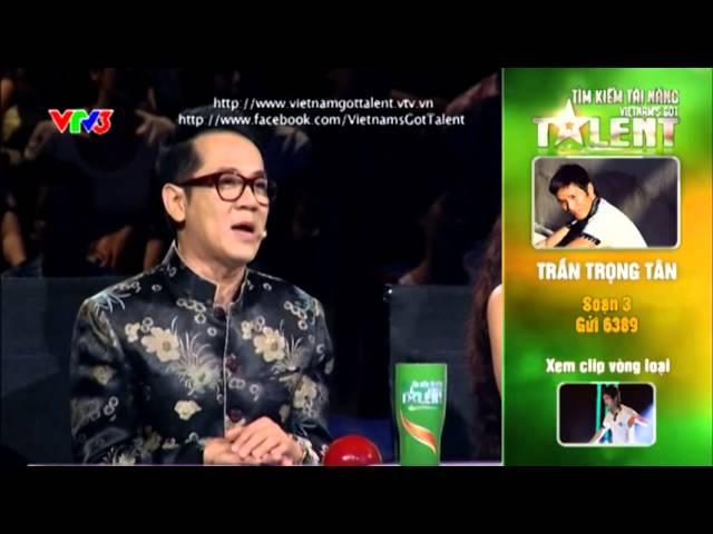 Vietnam's Got Talent 2012 - Bán Kết 3 - Trần Trọng Tân - Ms: 3