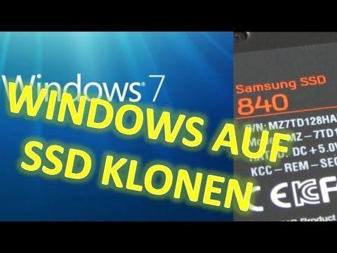 WINDOWS 7 / 8 KLONEN   KOPIEREN AUF SSD ÜBERTRAGEN [SAMSUNG DATA MIGRATION TOOL] DEUTSCH FULL HD
