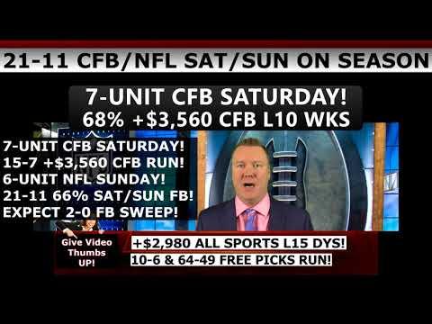 FREE SPORTS PICKS NFL WEEK 13 – EXPERT NFL PREDICTIONS SUNDAY 12/03/2017