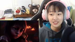 League of Legends Annie Origins Reaction (LoL Annie Cinematic Reaction)(Hachan Reacts)