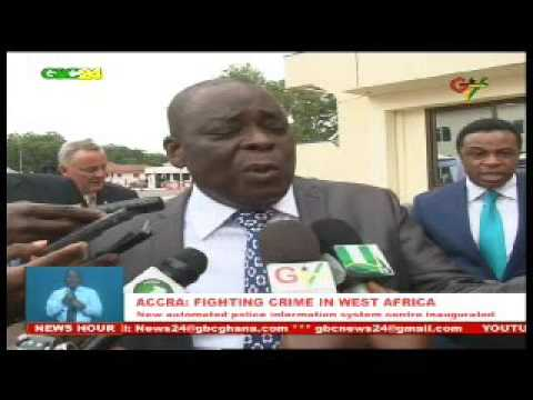 West Africa Police Info System Inaugurated