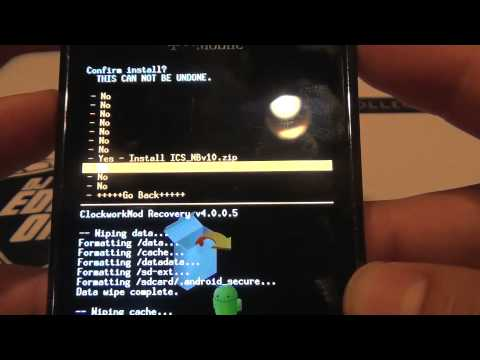 Root & Install Ice Cream Sandwich On The Samsung Galaxy S