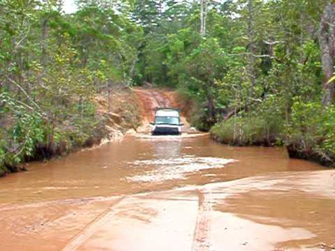 River Crossing Twin Falls Cape York Video.avi