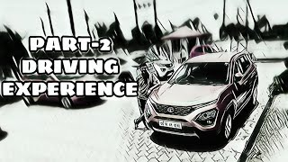 TATA HARRIER DRIVE AND DRIVING EXPERIENCE PART-2