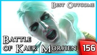 Witcher 3 ► THE BATTLE OF KAER MORHEN - Full Crew | Best Outcome #156 [PC]