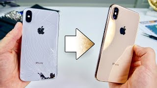 Turn Your iPhone X Into a XS! Perfect Gold Kit