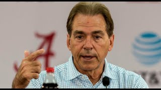 Nick Saban wraps up Texas A&M, looks to Arkansas