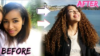 How to Grow Your Hair | Major Heat Damage + Curly Hair