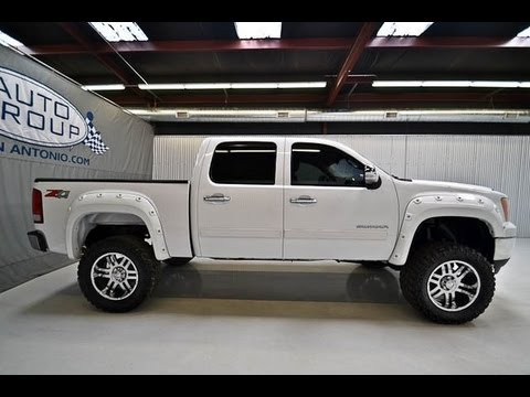 2011 gmc sierra 1500 crew cab z71 lifted truck for sale youtube. Black Bedroom Furniture Sets. Home Design Ideas