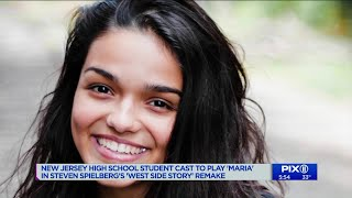 `West Side Story` remake finds its Maria in an NJ high school student
