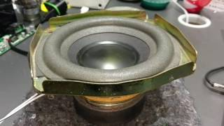 "Bose Richbass SVC 6"" - Audi Stock Subwoofer Test"