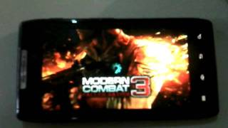 Modern Combat 3 RAZR XT910