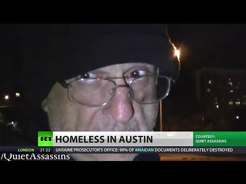 Homeless Michigan man becomes internet sensation after filming life on the street