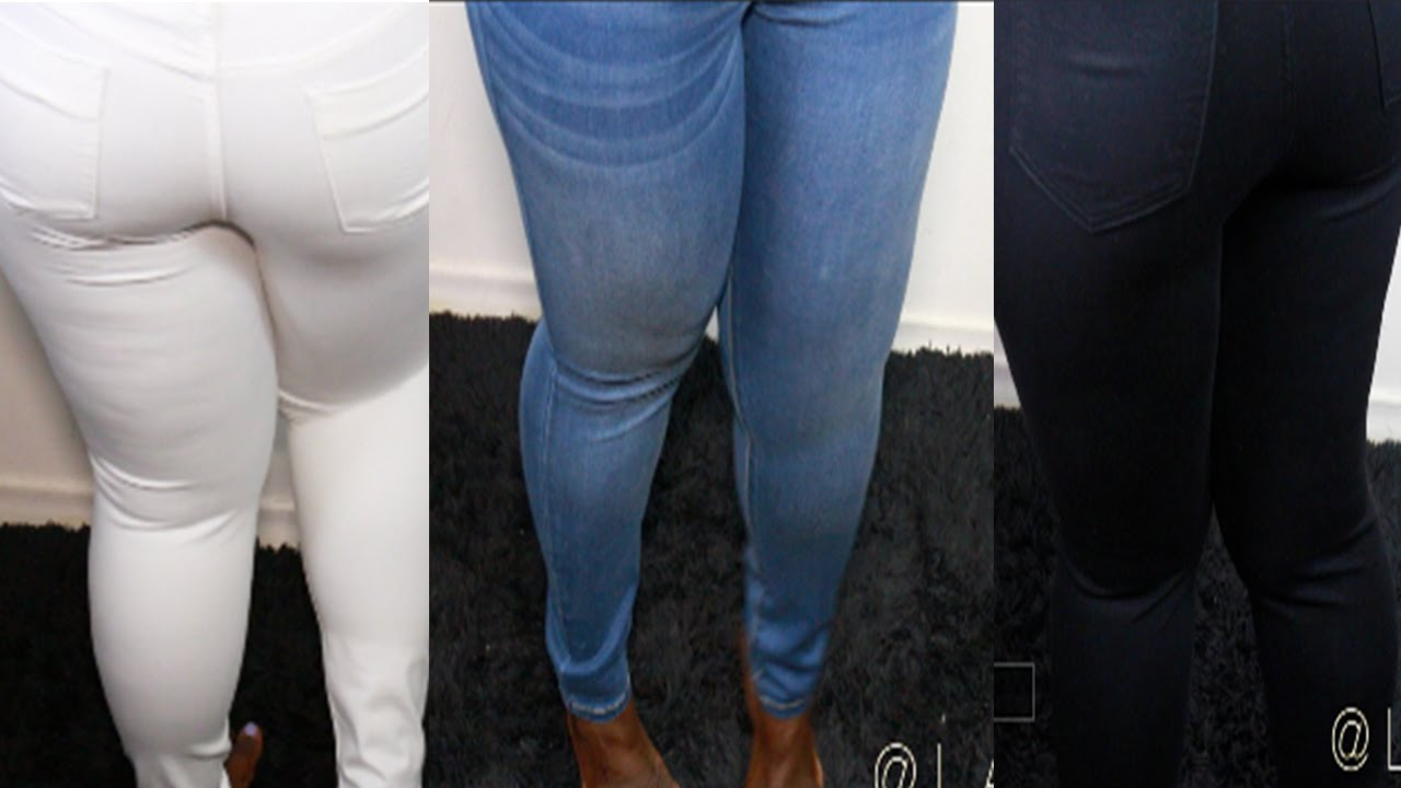Fashion Nova Jeans Haul Plus Size Skinny Jeans Try On