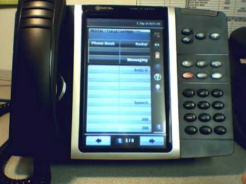 Tv Service Providers >> Mitel 5360 IP Phone - YouTube