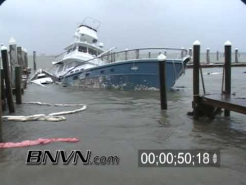 Hurricane Jeanne Video, September 9/25/2004 Fort Pierce Florida, Part 1