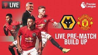 Manchester United v Wolverhampton Wanderers - LIVE MUTV Pre-Match Build Up 18:30 (BST)