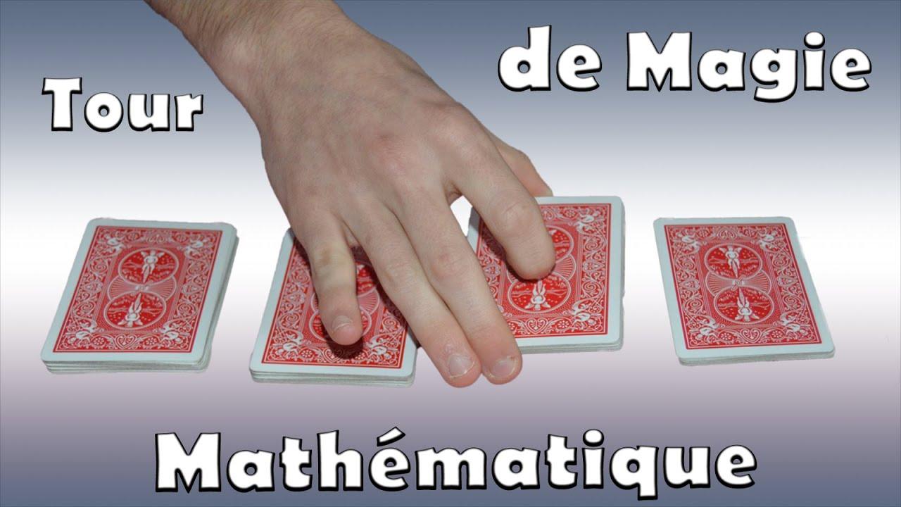 tour de magie math matiques impressionnant les 3 cartes best of youtube. Black Bedroom Furniture Sets. Home Design Ideas