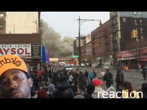 Building Explosion and Collapse at Harlem, Manhattan | NYC Block Collapses Harlem reaction