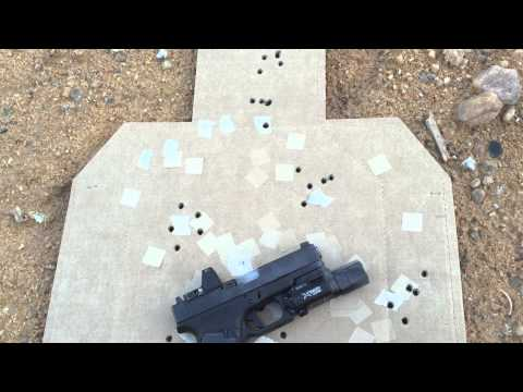 KKM Precision Barrel Glock 19 13 Yards