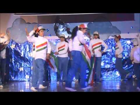 Kehte Hai Humko Pyar Se India Wale Dance Performance | JK Public School Annual Day 2014-15