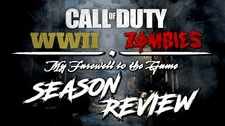 WWII ZOMBIES | SEASON REVIEW | PERSONAL THOUGHTS | FUTURE [COD WW2 ZOMBIES]