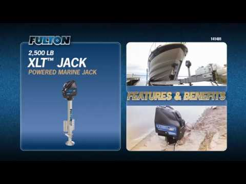 The Fulton® XLT™ Powered Marine Jack: Show Your Boat Who's Boss