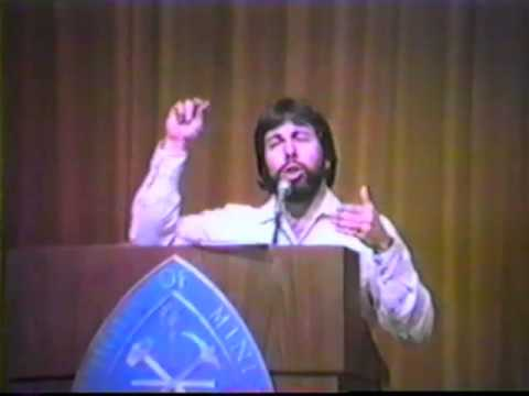 1984 Steve Wozniak Full Speech Part 1 of 4