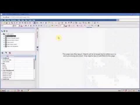 how to create crosstab report in cognos 10 report studio