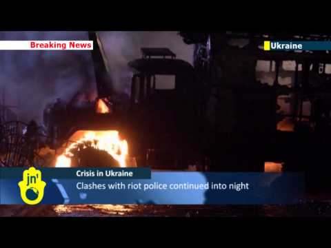Kiev Protests Turn Violent: Ukrainian opposition says President Yanukovych ready to negotiate