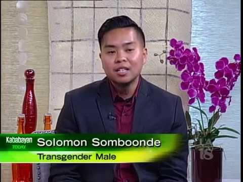 Filipino/Thai-American Transgender Male Solomon Somboonde