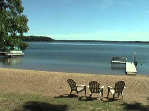 Wonderful Sandy Beach On Round Lake Hayward Wi Youtube