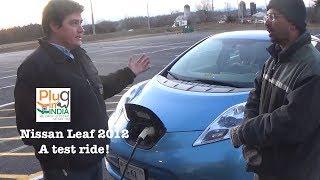 Nissan Leaf 2012 - An owner gives us a demo!