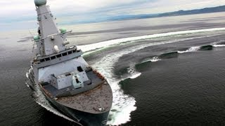 ★ TYPE 45 DESTROYER vs F100-HOBART DESTROYER ★ 2013
