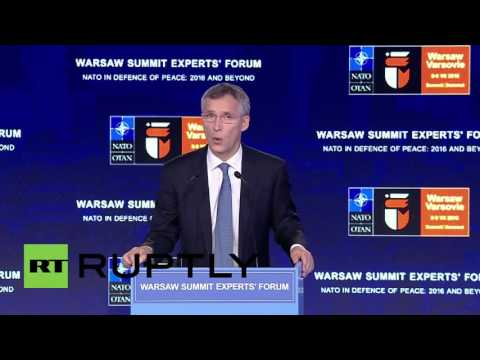 Poland: Stoltenberg opens NATO summit, insists Brexit is not a threat to alliance