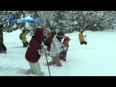 飛騨市 「奥飛騨山之村牧場」 ~第1回 のんびり冬の散策会~