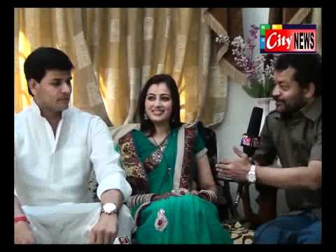 Ravi Rana Navneet (kaur) Rana Exclusive Interviev  .flv video