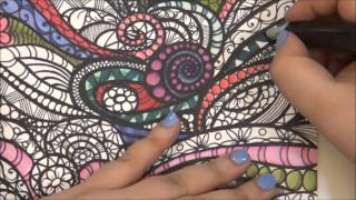 Speed Coloring ? My Drawing ? Love to Color ? Tiffany Lovering