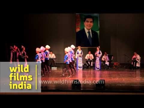 Turkmen Music And Dance Displayed In Delhi video