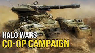 Halo Wars - Campaign Co-Op | Ep3 | Shack & Tex fight the Covenant