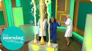 Phillip & Holly Make a Massive Explosion in the Studio | This Morning
