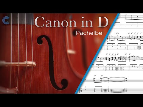 Violin   Canon In D   Pachelbel   Sheet Music &amp  Chords