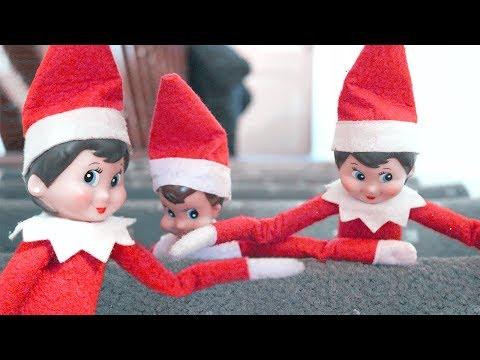 Elf on the Shelf 🎄 Christmas Stair Slide🎄