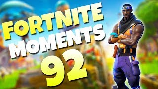 KING RICHARDS LEAP OF FAITH!! (AMAZING VICTORY) | Fortnite Daily Funny and WTF Moments Ep. 92